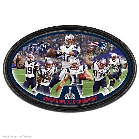 Patriots Super Bowl XLIX Champions Wall Decor
