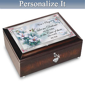 Nurse Prayer Personalized Music Box