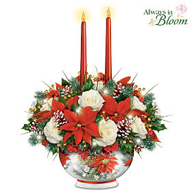 Bright Holiday Lights Table Centerpiece