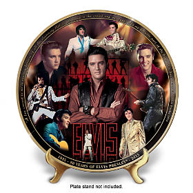 Elvis 80th Anniversary Commemorative Collector Plate