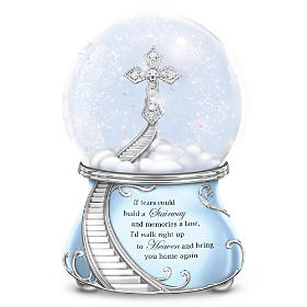 Loving Memories Glitter Globe