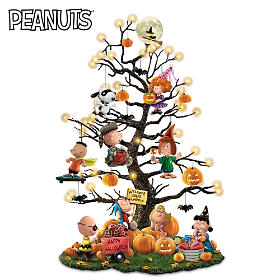 PEANUTS It's The Great Pumpkin Tabletop Tree