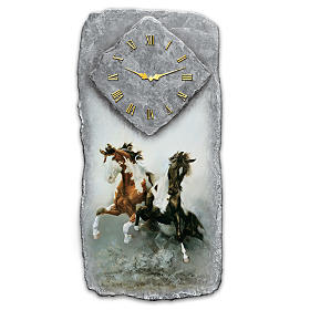 Spirit Of The Wild Wall Clock