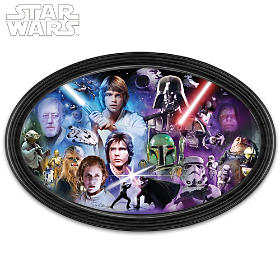STAR WARS Masters Of The Force Wall Decor