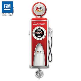 Corvette High Octane Wall Clock
