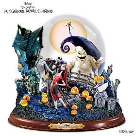 Disney Tim Burton's Nightmare Before Christmas Snowglobe