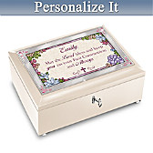 Blessed First Communion Personalized Music Box