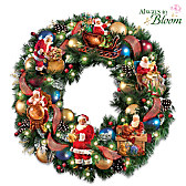 Santa's Busy Season Wreath