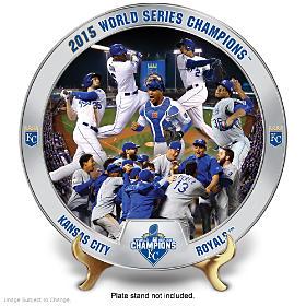 2015 World Series Kansas City Royals Collector Plate