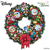 It's A Magical Disney Christmas Wreath