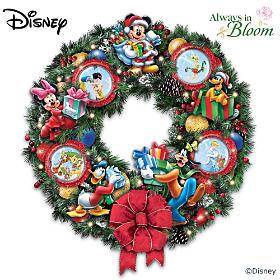 It's A Magical Disney Christmas Wreath