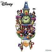 Disney Spooktacular Halloween Cuckoo Clock