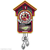 Washington Redskins Cuckoo Clock