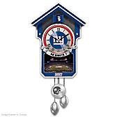 New York Giants Cuckoo Clock