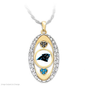 For The Love Of The Game Panthers Pendant Necklace