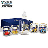STAR TREK Legacy Decanter Set