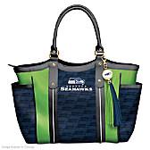 Touchdown Seahawks! Tote Bag