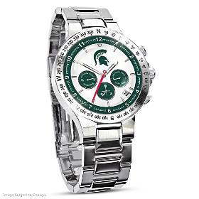 Michigan State Spartan's Men's Collector's Watch