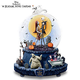 Disney The Nightmare Before Christmas Glitter Globe