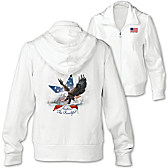 America The Beautiful Women's Hoodie