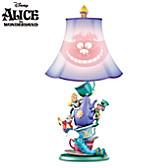 Disney Alice In Wonderland Mad Hatter's Tea Party Lamp