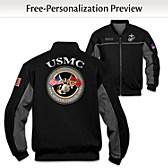 USMC Salute Personalized Men's Jacket