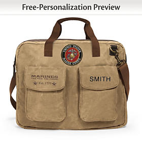 USMC Personalized Tote Bag