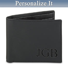 Forever My Grandson Personalized Men's Wallet