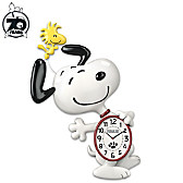 Snoopy Motion Wall Clock