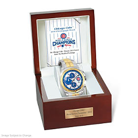 2016 World Series Champions Chicago Cubs Men's Watch