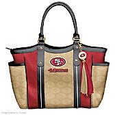 Touchdown 49ers! Tote Bag