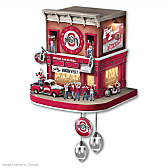 Ohio State University Fan Celebration Cuckoo Clock