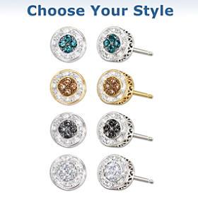 All That Glamour Diamond Earrings