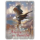 America The Beautiful Wall Decor