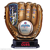2016 World Series Champions Cubs Glove Sculpture