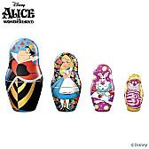 Disney Alice In Wonderland Nesting Doll Set