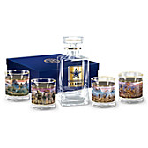 This We'll Defend Decanter Set