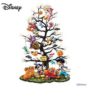 Disney Trick Or Treat Halloween Tabletop Tree