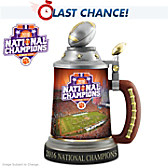 Clemson Tigers 2016 National Champions Stein