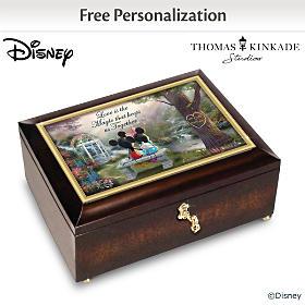 Disney The Magic Of Love Personalized Music Box