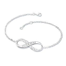 Infinite Love Daughter Diamond Bracelet