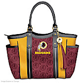Touchdown Redskins! Tote Bag