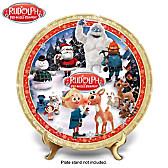 Rudolph The Red-Nosed Reindeer Collector Plate
