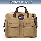 Seattle Seahawks Personalized Tote Bag