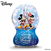 The Magic Of Disney Glitter Globe