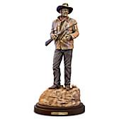 Standing Tall: John Wayne Sculpture