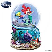Disney The Little Mermaid Glitter Globe