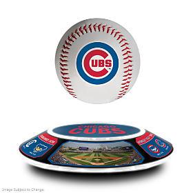 Chicago Cubs Levitating Baseball Sculpture