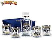 The Three Stooges Decanter Set