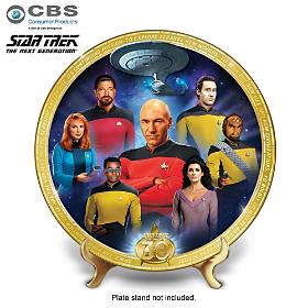 STAR TREK: The Next Generation Commemorative Collector Plate